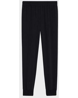 Pure Pull On Pant With Rib Cuff