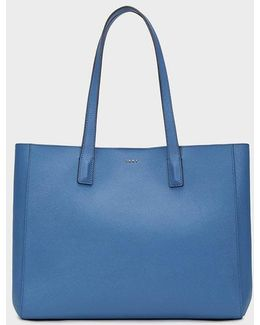 Large Bryant Park Bonded Saffiano Tote