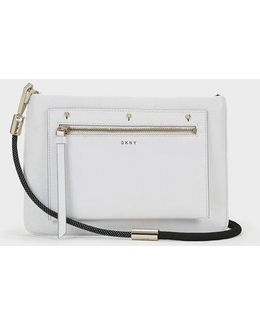 Bungee Rope Crossbody With Removable Pouch