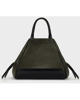 Soft Leather Convertible Tote