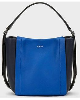 Mini Greenwich Smooth Calf Leather Colorblock Crossbody