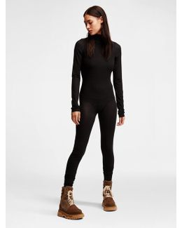 Body Jersey Turtleneck Bodystocking