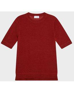 Pure Short Sleeve Crew Neck Pullover