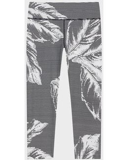Sonic Printed Cropped Mid-rise Legging