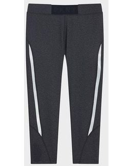 Cropped Pant With Logo Waistband