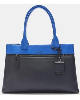 Nappa Leather East/west Tote