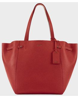 Chelsea Pebbled Leather Large Tote