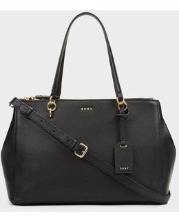 Chelsea Pebbled Leather Large Shopper