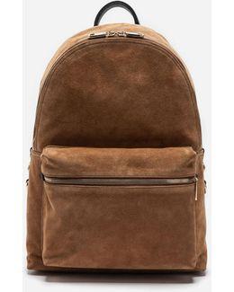 Vulcano Backpack In Leather