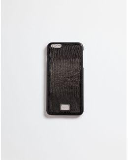 Iphone 6 Plus Cover With Dauphine Leather Details