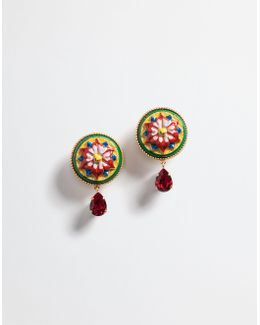 Earrings With Decorative Elements