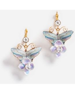 Earrings With Floral Details