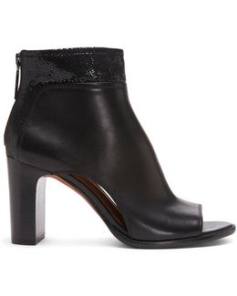 Calf Leather Bootie
