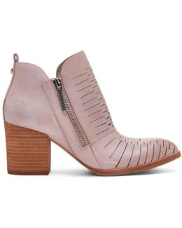 Brushed Calf Leather Bootie