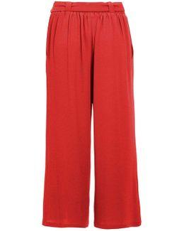 Quiz Burnt Orange Culotte Trousers