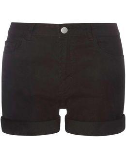 Tall Black Entry Shorts