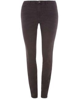 Juna Rose Curve Grey Slim Jeans