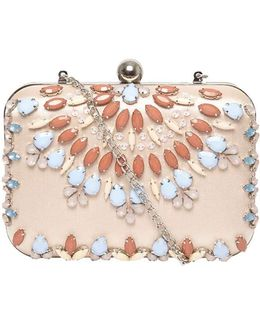 Blush Jewel Box Clutch