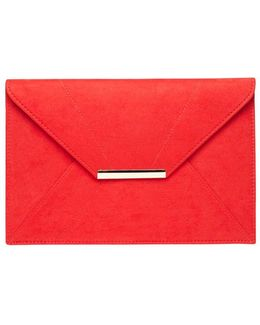 Red Envelope Clutch Bag