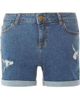 Midwash Abrasion Shorts