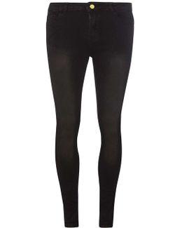 Washed Black Premium 'bailey' Super Skinny Stretch Jeans