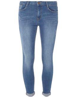 Blue Mid Wash Harper Jeans
