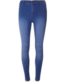 Bright Blue 'frankie' Ultra Soft Jean