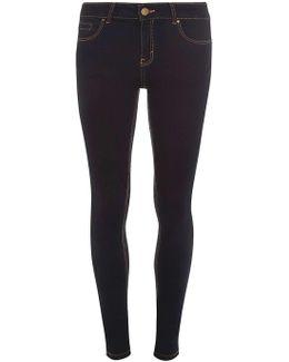 Tall Indigo Authentic 'bailey' Super Skinny Stretch Jeans