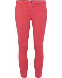 Bright Pink Skinny Jeans