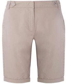 Mink Knee Length Shorts