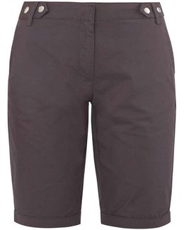 Charcoal Knee Length Shorts