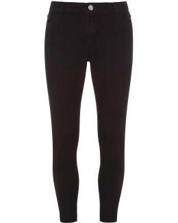 Petite Black 'ashley' £16 Skinny Jeans