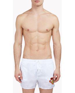 Patch Swim Shorts