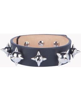 Leather Spiked Armlet