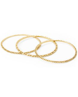 Ball Chain Bangle Set