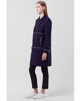 Dvf 1 2 3 Zip Coat