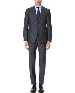 Drop 8 Wool Mohair Blend Suit