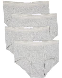 4 Pack Cotton Classic Briefs