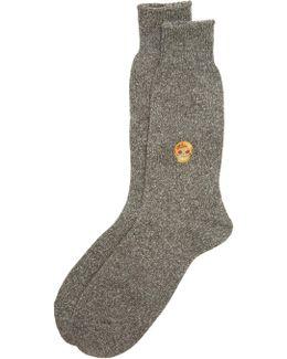Multi Pattern Crew Socks