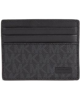 Jet Set Shadow Signature Tall Card Case