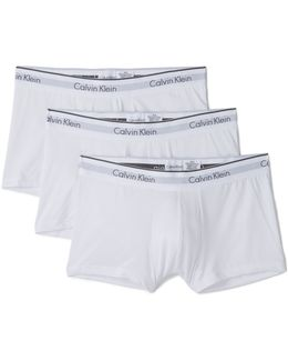 3 Pack Microfiber Low Rise Trunks