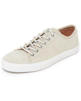 Brett Low Suede Sneakers