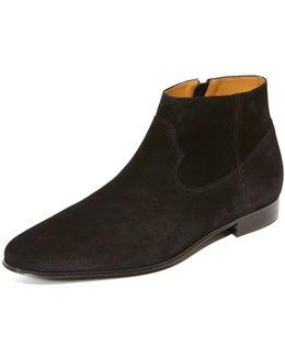Nars Suede Zip Boots
