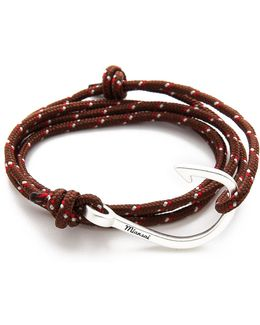 Hooked Rope Wrap Bracelet