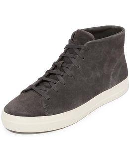 Cullen Suede High Top Sneakers