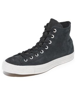 Chuck Taylor All Star High Top Nubuck Sneakers
