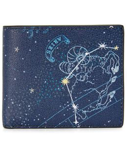 Aries Leather Astrology Billfold