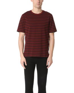 Smooth Jersey Striped Tee