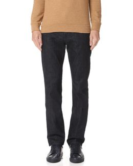 Luxe Performance Straight Fit Jeans