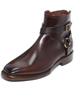 Weston Cross Strap Boots